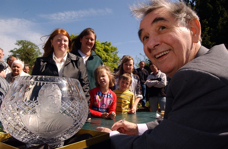 Brian Clough, Darley Park in Derby, 2003.