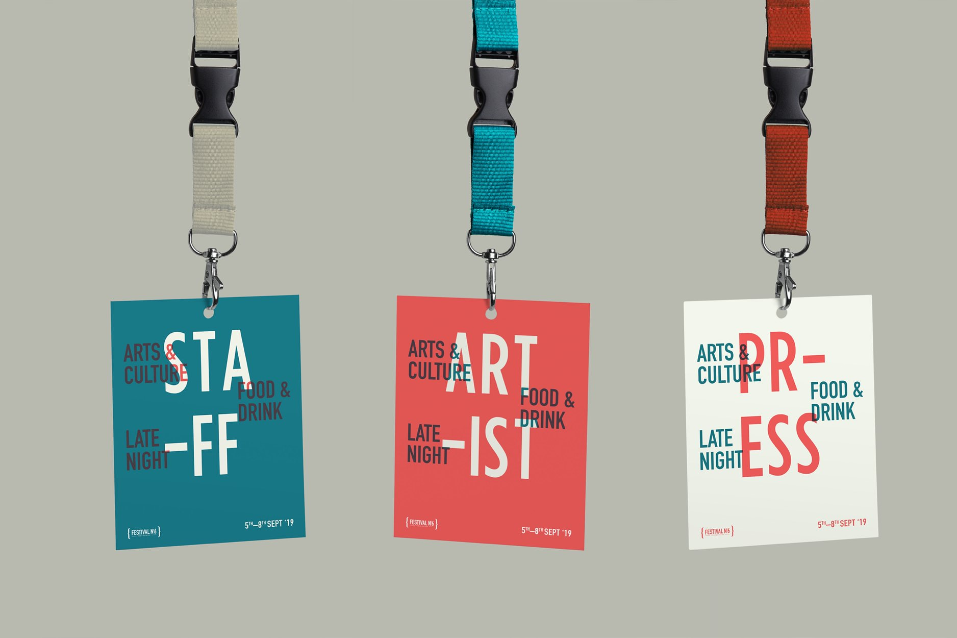 Festival No 6 passes. Student brief at Shillington.